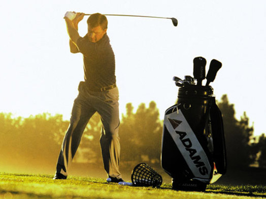 Adams Golf : Nick Faldo