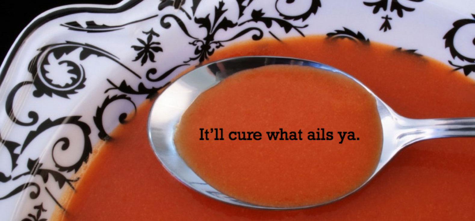 Soup Is Good Food Marin Advertising Design Brainblaze