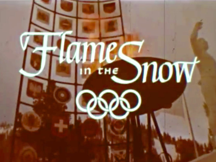 Squaw Valley California Olympics : Flame in the Snow VIII Olympic Winter Games 1960