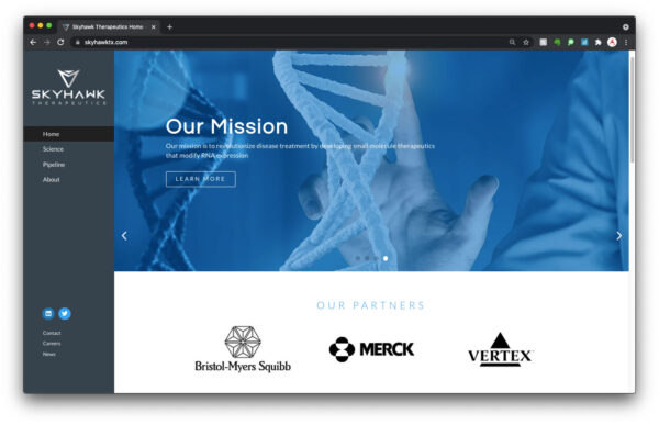 Skyhawk Therapeutics : Small Molecules that Modify RNA Expression : Bio Parma Marketing